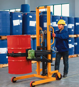 慕克为上海石油股份提供油桶搬运车